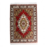 20x30cm Real Woven Carpet (Red)