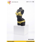 Female M Size Sexy Underwear (Yellow)
