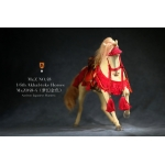 Akhal-Teke Horse with Accessories Set (Beige)