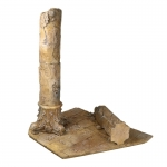 Ancienst Temple Destroy Diorama (Beige)