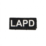 LAPD Patch (Black)