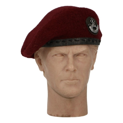 Oxfordshire And Buckinghamshire Light Infantry Beret (Red)