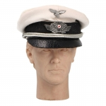Luftwaffe Tropical Crusher Schirmmütze Visor Cap (White)