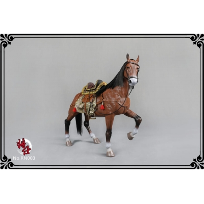 Horse with Accessories (Brown)