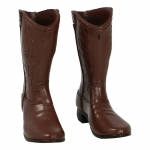 Cowboy Boots (Brown)