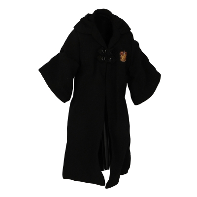 Kid Gryffindor Wizard Robes (Black)