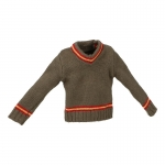 Kid Gryffindor Kintted Pattern Sweater (Grey)