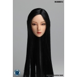 Asian Female Headsculpt with Moveable Eyes