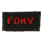 Fire Department New York Patch (Black)
