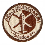 Shadows SOAR 160th Company Patch (Beige)