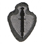 USASOC Subdued Patch (Grey)