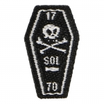 Sons Of Liberty Boston Massacre Coffin Patch (Black)
