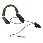 MBTIR Radio Headset with PTT (Woodland)