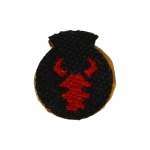 34th Red Bull Infantry Division Patch (Red)