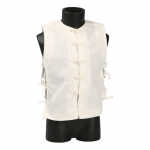 Traditional Asian Waistcoat (White)
