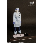 Female Isolation Gown Set (Blue)