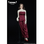 Female Conjoined Skirt Set (Red)