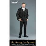 Strong Body Suit Set (Black)