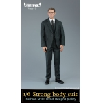 Strong Body Suit Set (Grey)