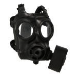 Gas Mask with Pouch (Black)