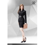 Office Lady Female Suit Set (Black)