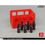 Soda Bottle Rack Set (Red)