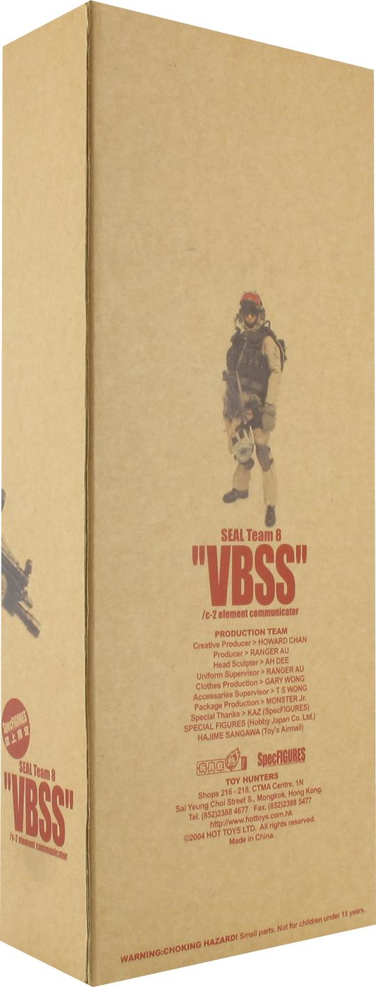 Seal Team 8 VBSS C2 Element Communicator HOT TOYS - Machinegun