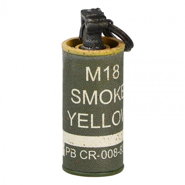 M18 Yellow Smoke Grenade (Olive Drab)