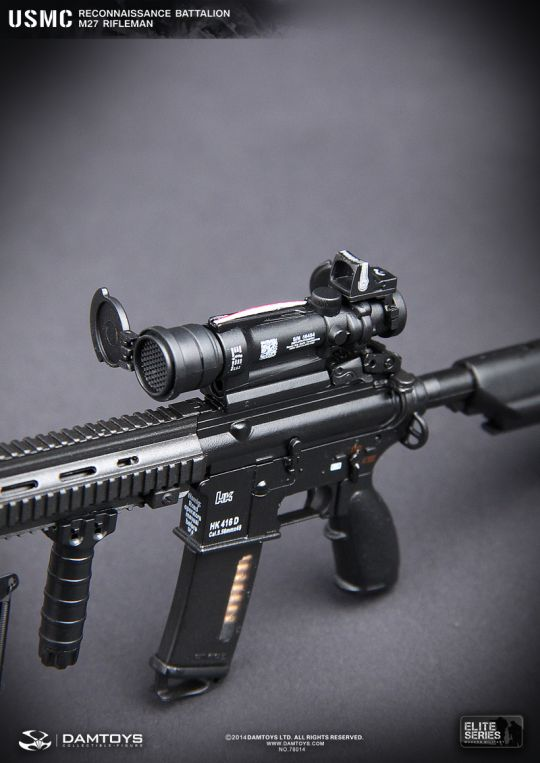 Usmc Reconnaissance Battalion M27 Rifleman Dam Toys Machinegun