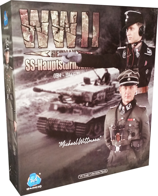 DiD 1//6 Scale WWII German Panzer Officer Michael Wittmann Grey Gloves D80098