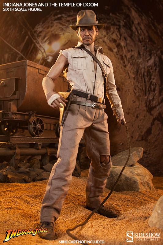 121c8036ac26d Indiana Jones : Temple of Doom - Indiana Jones SIDESHOW COLLECTIBLES -  Machinegun