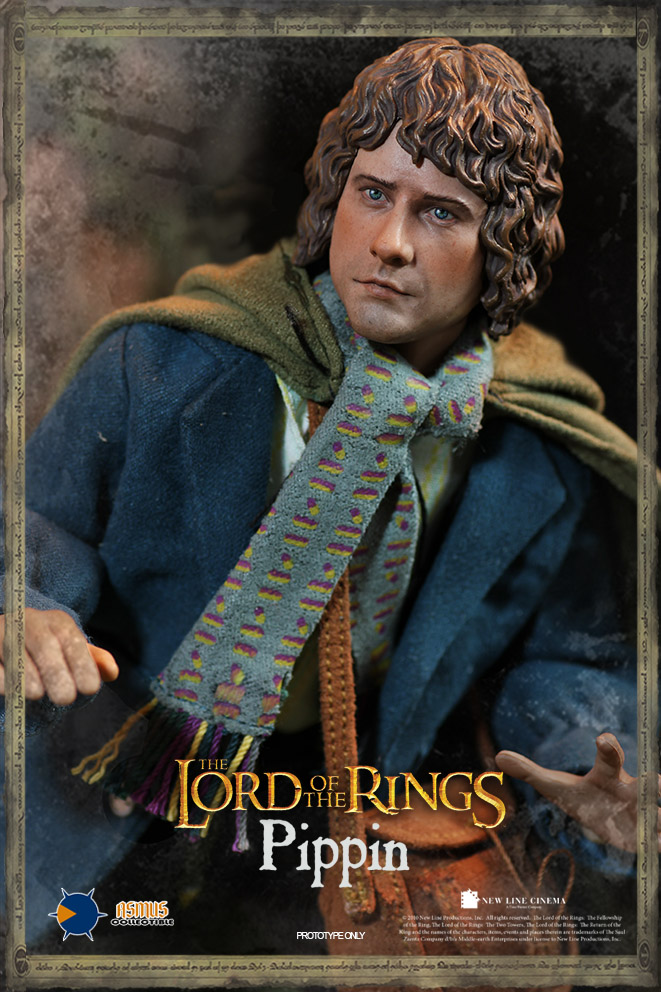 """Asmus Toys 1//6 scale Merry Slim 12/"""" The Lord of the Rings Man Action Figure UK"""