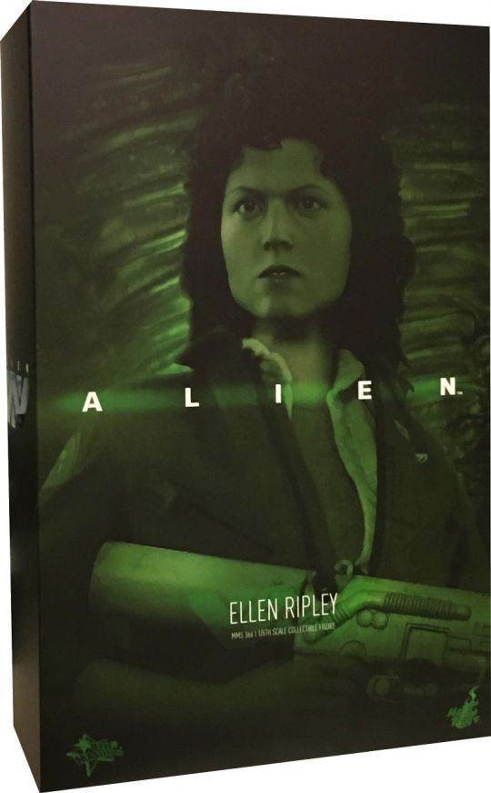 Hot Toys Alien Ellen Ripley Green Top T Shirt 1//6 MMS366 Military Army