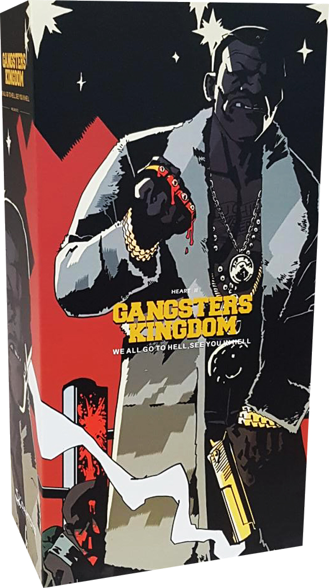 DAMTOYS DAM GK013 1//6 Gangsters Kingdom GK013 Heart II 2 Benson TEC-DC9 Model
