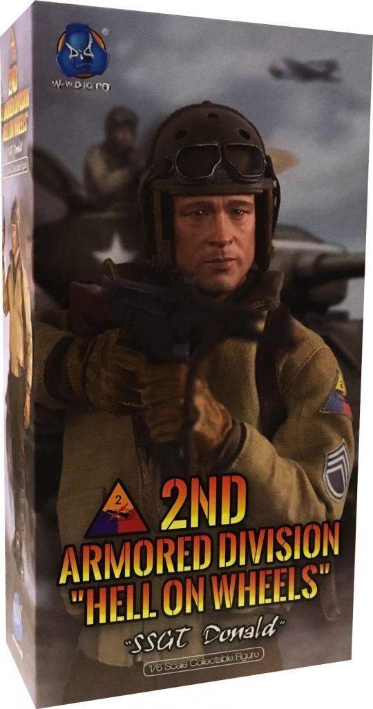 DID Holster WWII 2ND ARMORED DIV HELL ON WHEELS SSGT DONALD 1//6 ACTION FIG TOYS
