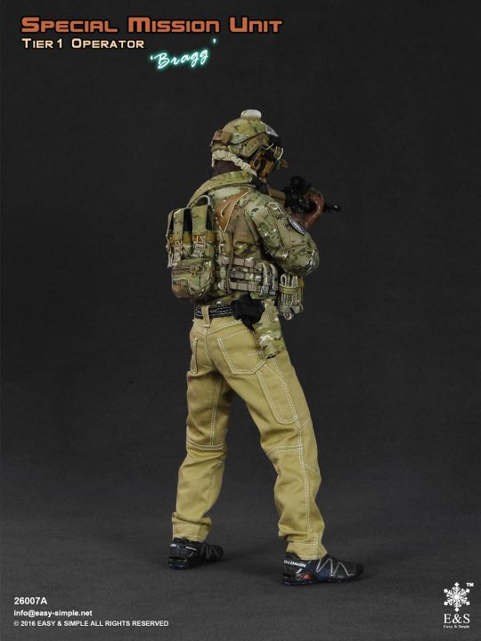 1//6 Scale Toy commando de marines Urban Warfare-opérateur-Male Head Sculpt