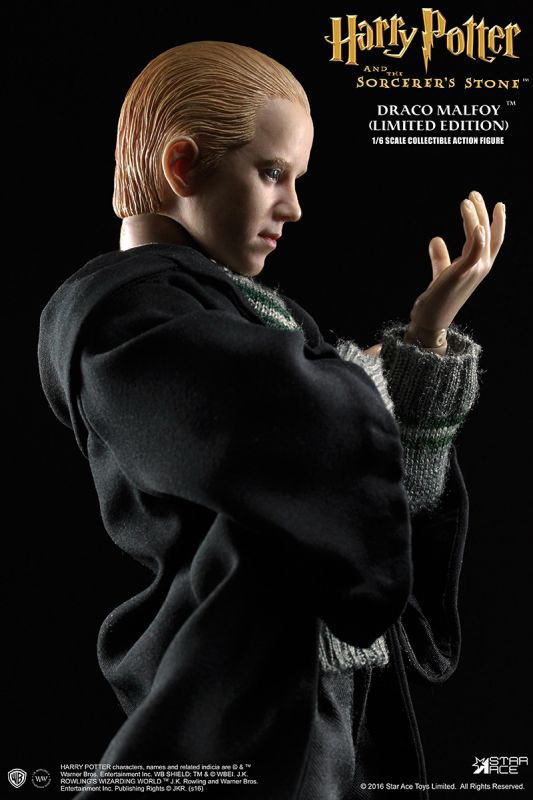 Star Ace Harry Potter Sorcerers Stone Draco Malfoy Hands x 5 loose 1//6th scale