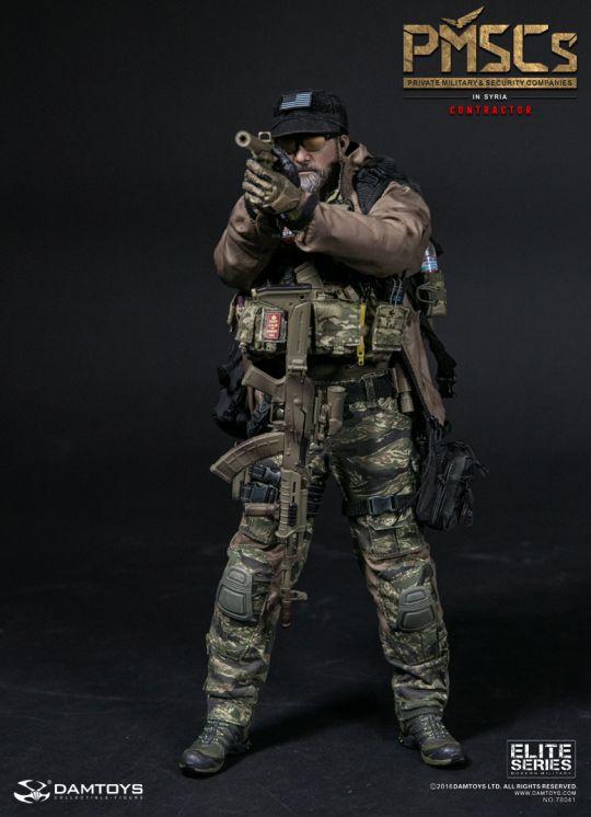 1//6 scale Combat Girl Series Female PMC GEMINI VICKY Black Pistol Dropleg Hols