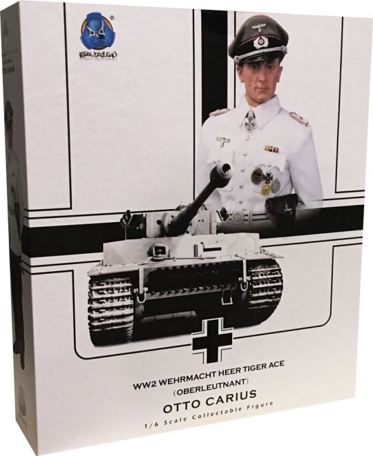 Oberleutnant DID D80117W  Wehrmacht Heer Tiger Ace Otto Carius Summer Version