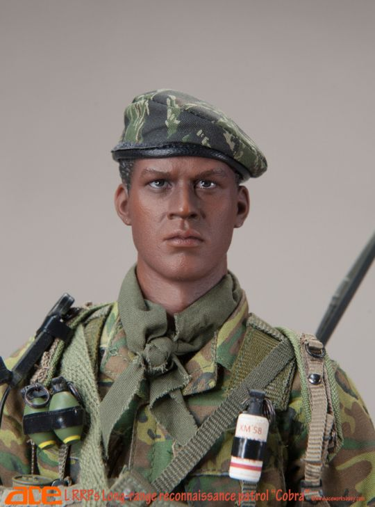 Cobra LRRP-Camo Uniform Set 1//6 Scale-Ace Action Figures