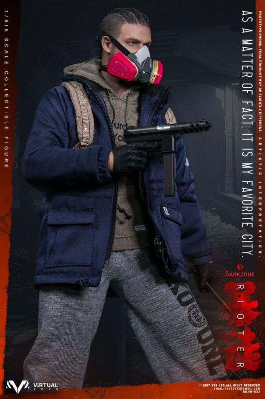 vts darkzone rioter revolver 1//6 toys virtual dragon dam gi joe soldier pistol
