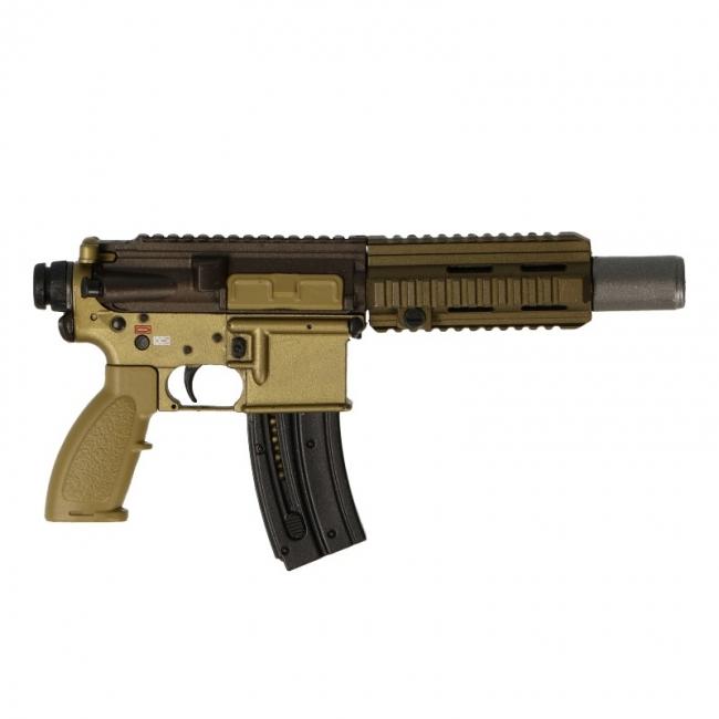 HK 416 22 Lr Assault Rifle (Coyote) Easy & Simple Machinegun