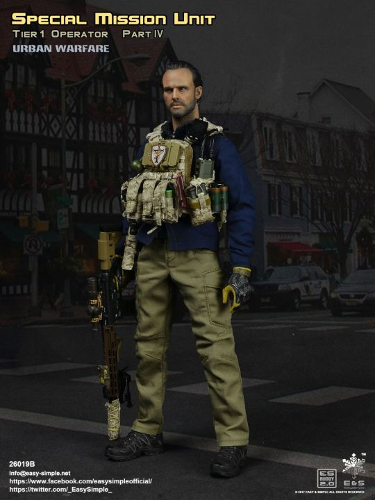 1//6 Scale Urban Warfare SMU Tier 1 Operator Patches