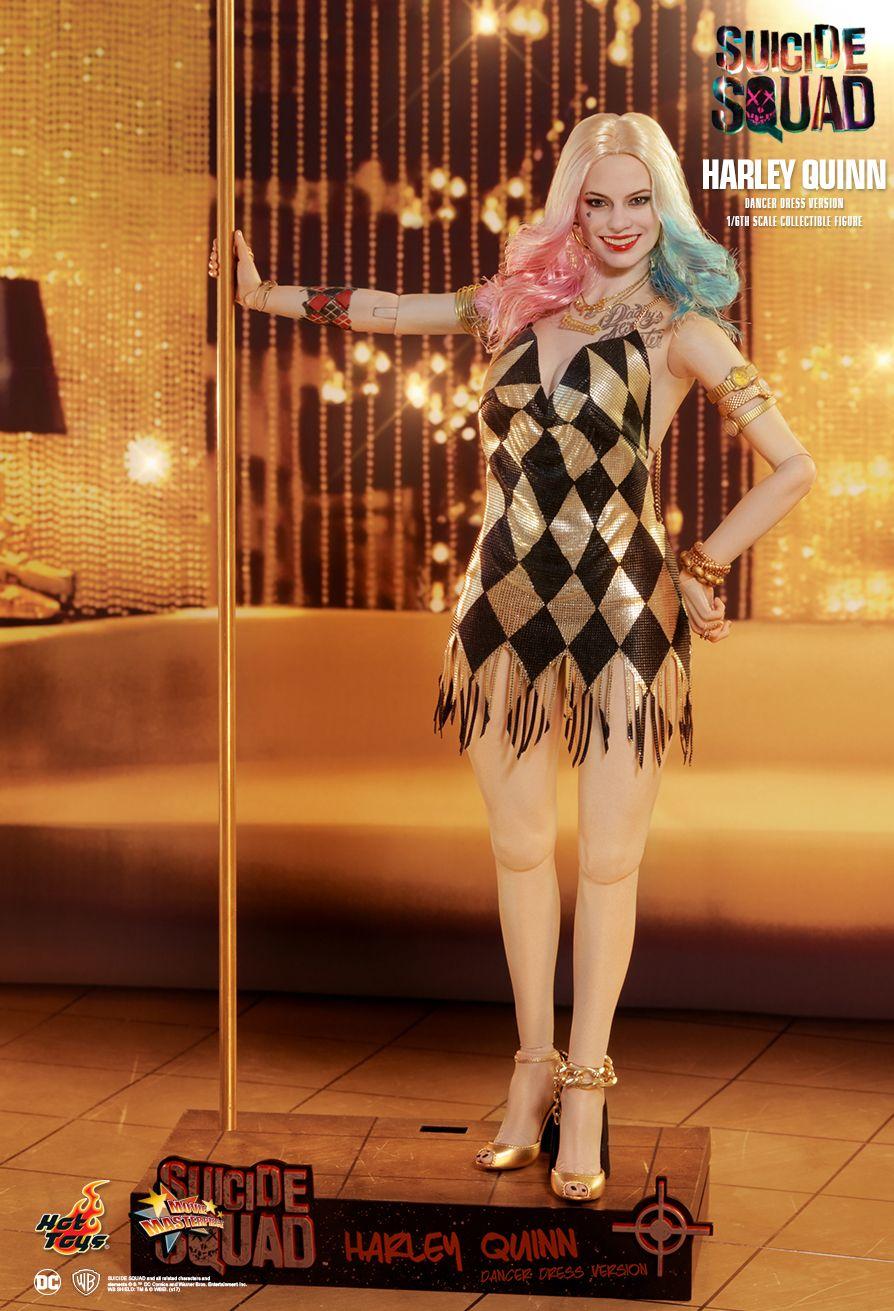 062b79e96b4 Suicide Squad - Harley Quinn (Dancer Dress Version) HOT TOYS - Machinegun