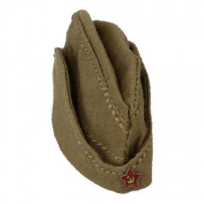 Russian Pilotka Side Cap (Olive Drab) Alert Line - Machinegun 0ba2242103b