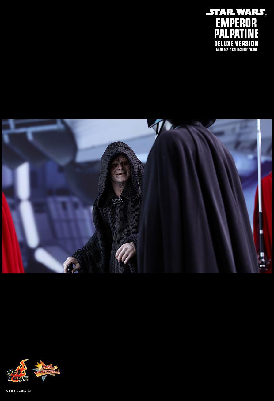 Star Wars Episode Vi Emperor Palpatine Deluxe Version Hot Toys Machinegun