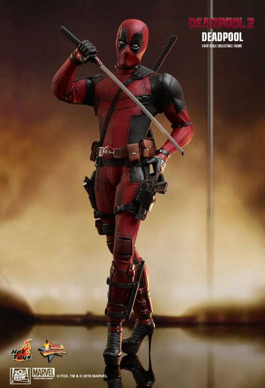 Neck bomb Model Toy Hot Toys 1//6th MMS490 Deadpool 2