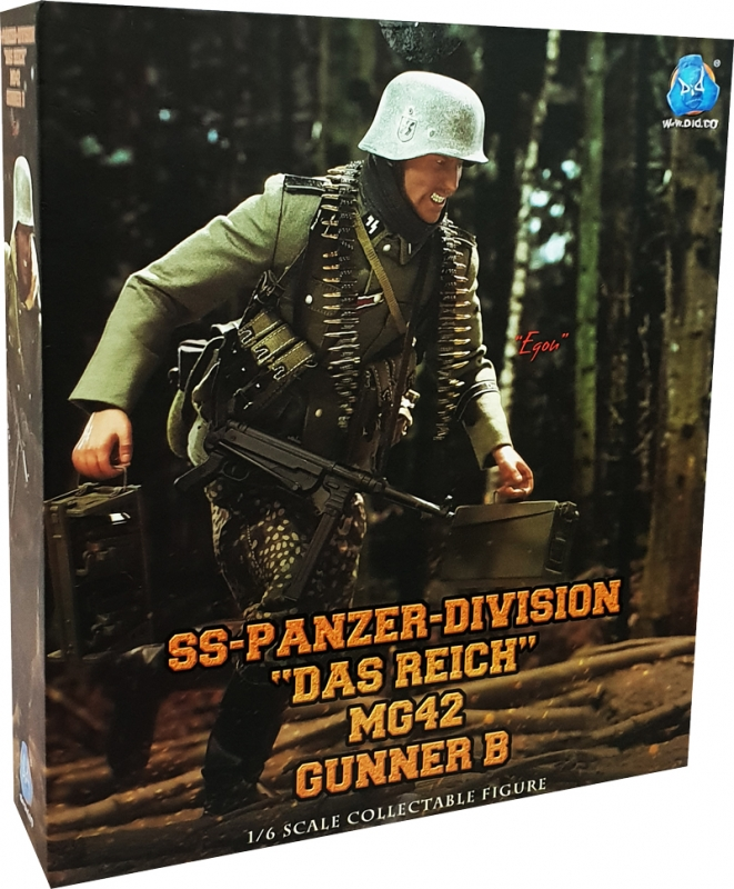 Uniform Set w// Patches 1//6 Scale DID Action Figures Egon MG34 Gunner