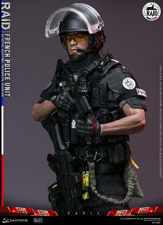 DAMTOYS DAM78061 1//6th French Police Unit Raid in Paris Signal model