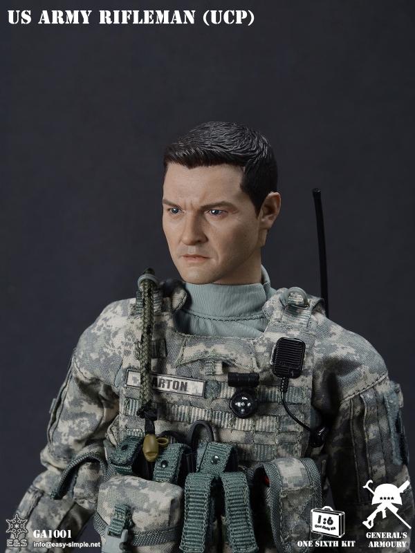EASY/&SIMPLE ES GA1001 General/'s Armoury 1//6 Scale US ARMY UCP Uniform Model